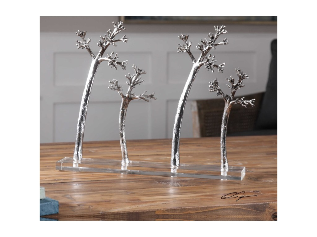 Uttermost AccessoriesBlowing Trees Sculpture