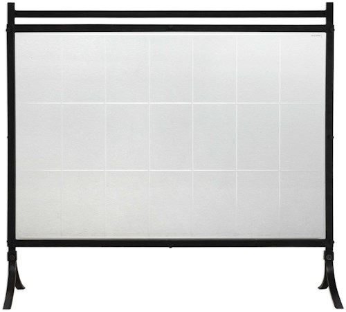 Uttermost Accessories Tate Tempered Glass Fireplace Screen