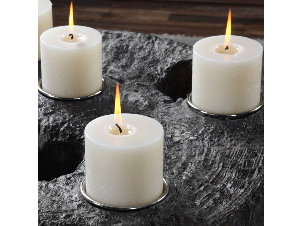 Uttermost AccessoriesElwin Tree Trunk Candleholder