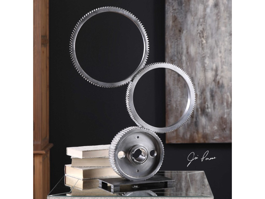 Uttermost AccessoriesStacked Gears Sculpture