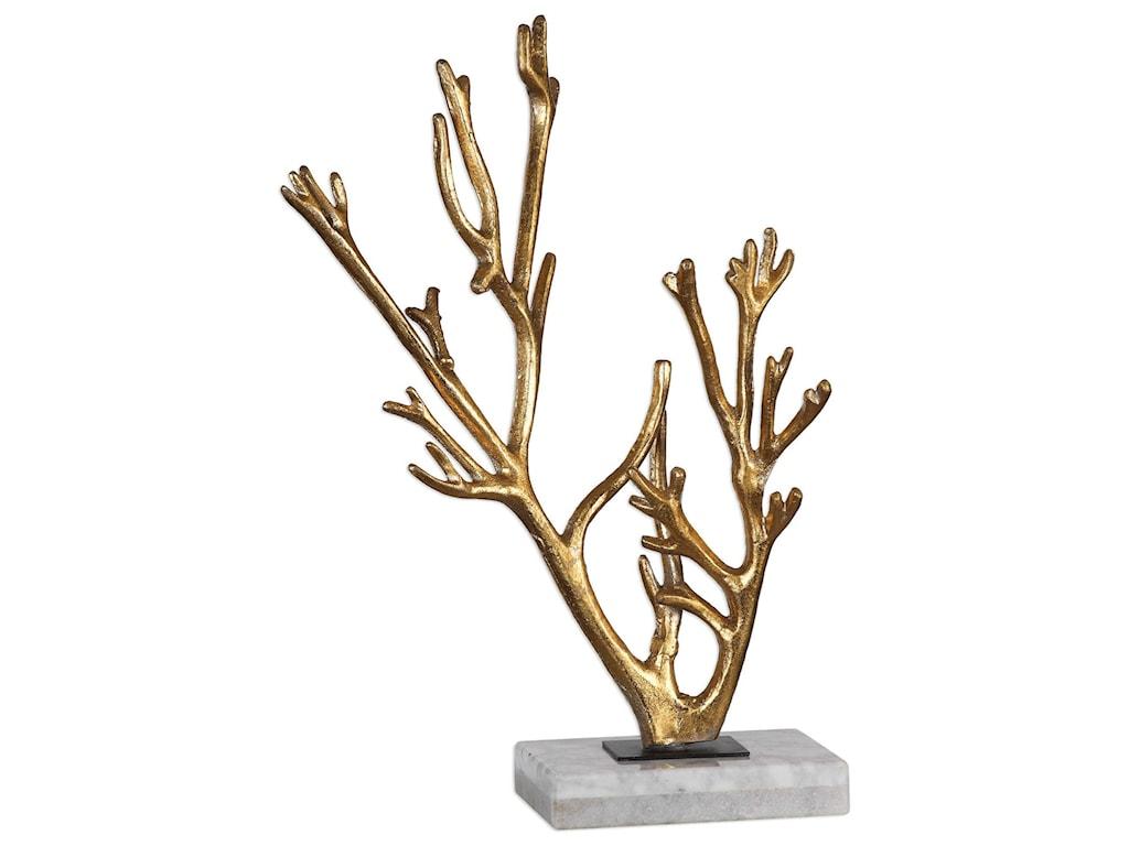 Uttermost AccessoriesGolden Coral Sculpture