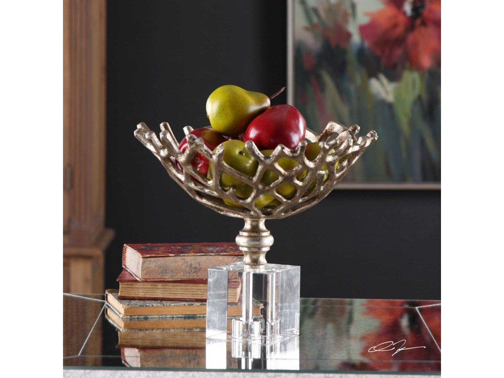 Uttermost AccessoriesTiana Metallic Gold Bowl