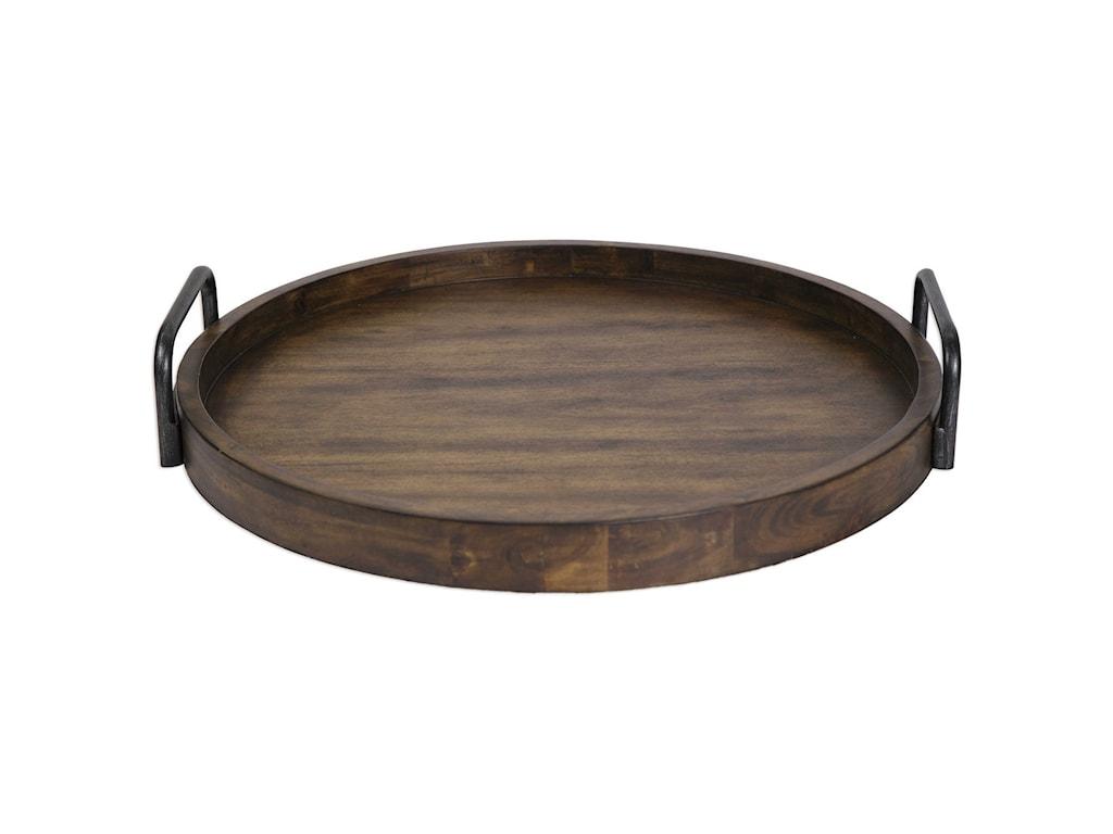 Uttermost AccessoriesReine Round Wooden Tray