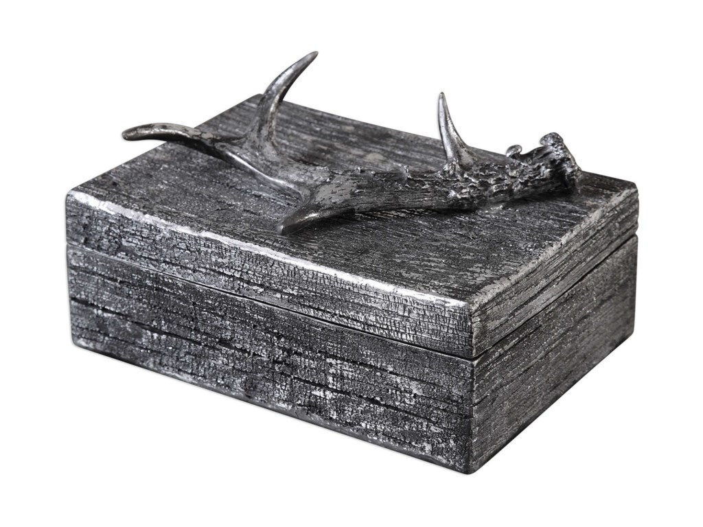 Uttermost AccessoriesRustic Antler Box