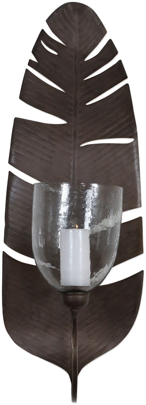 Uttermost Accessories Lallia Leaf Wall Sconce