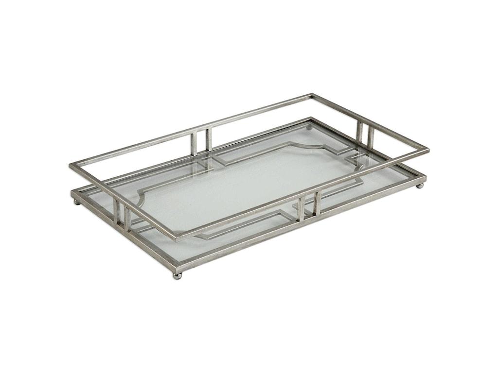 Uttermost AccessoriesRafaela Silver Tray