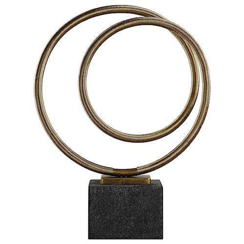 Uttermost Accessories Oja Gold Sculpture