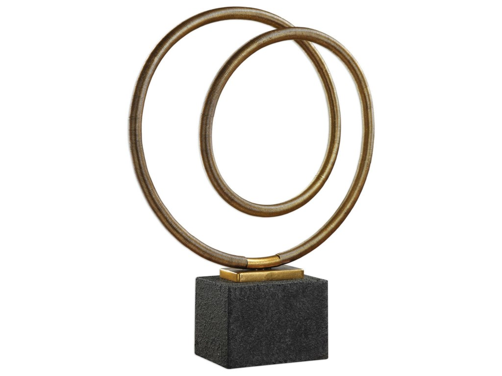 Uttermost AccessoriesOja Gold Sculpture