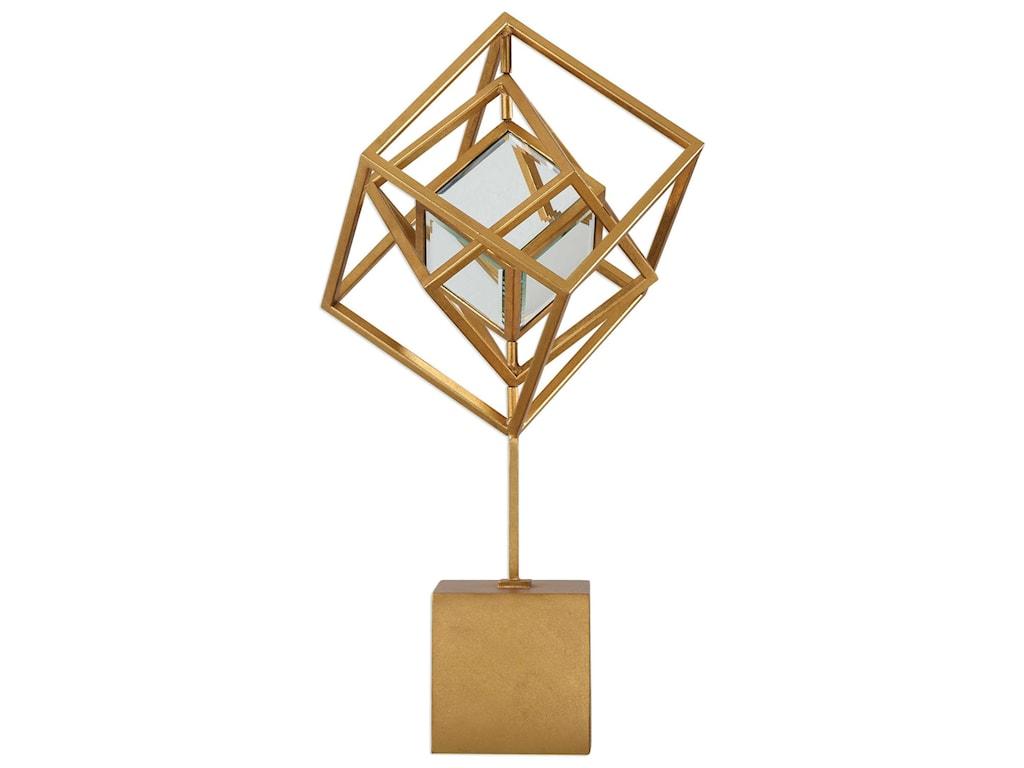 Uttermost AccessoriesVenya Metallic Gold Sculpture