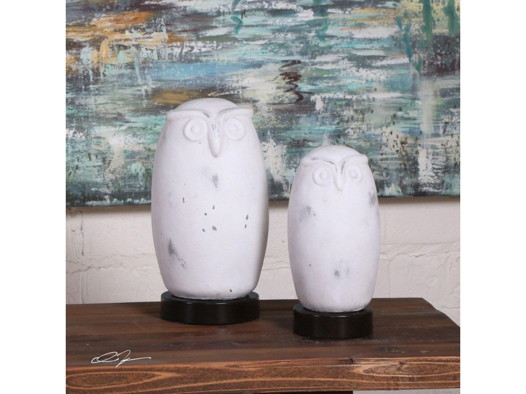 Uttermost AccessoriesHoot Owl Figurines Set of 2