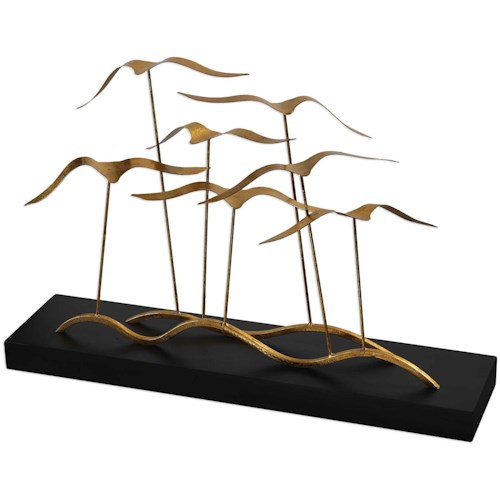 Uttermost Accessories Flock of Seagulls Sculpture