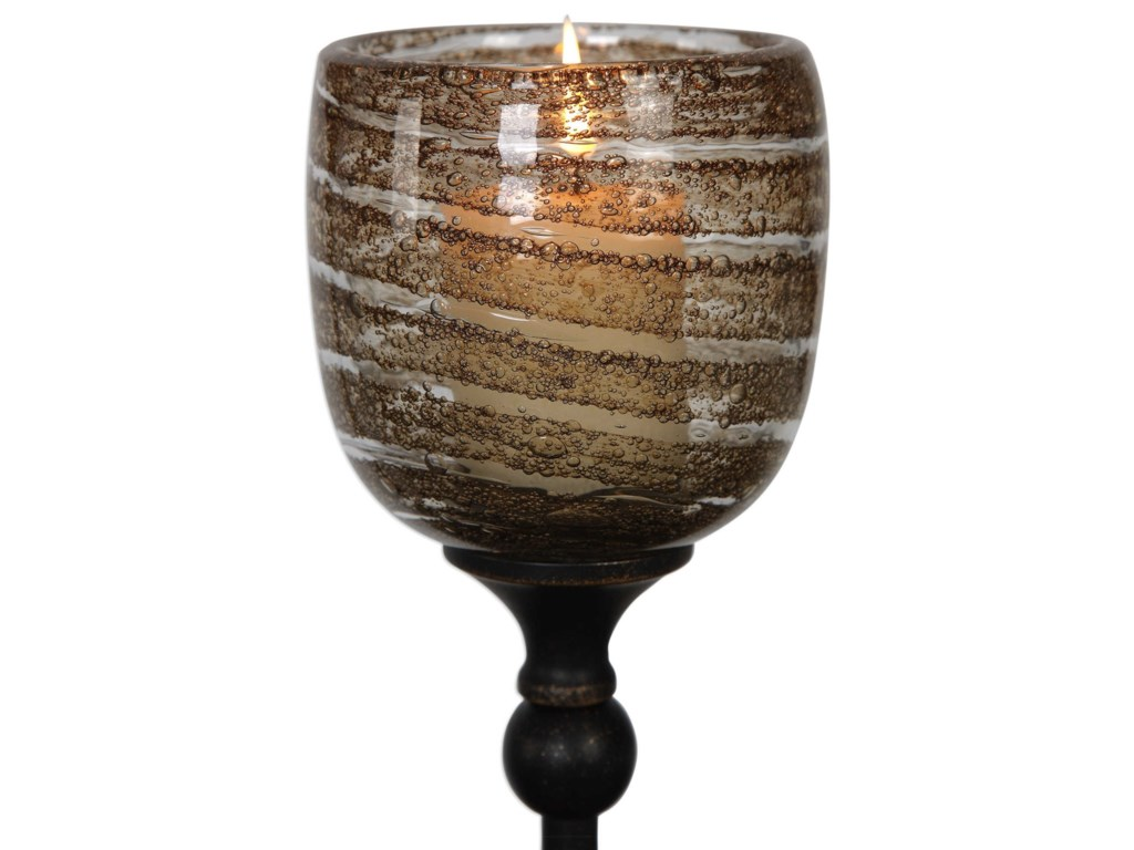 Uttermost AccessoriesLula Oil Rubbed Bronze Candleholders Set of