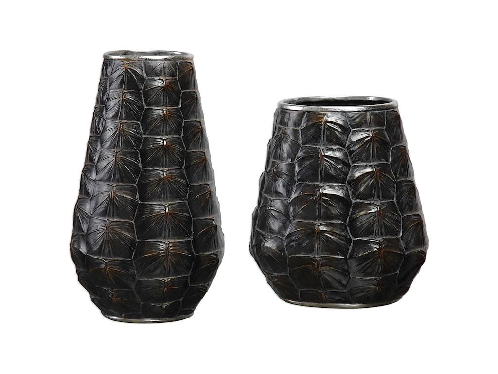 Uttermost AccessoriesKapil Tortoise Shell Vases Set of 2