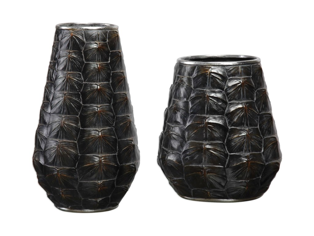 Uttermost AccessoriesKapil Tortoise Shell Vases Set of 2