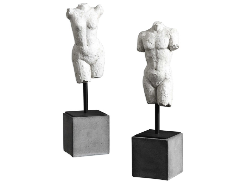 Uttermost AccessoriesValini Torso Sculptures Set of 2