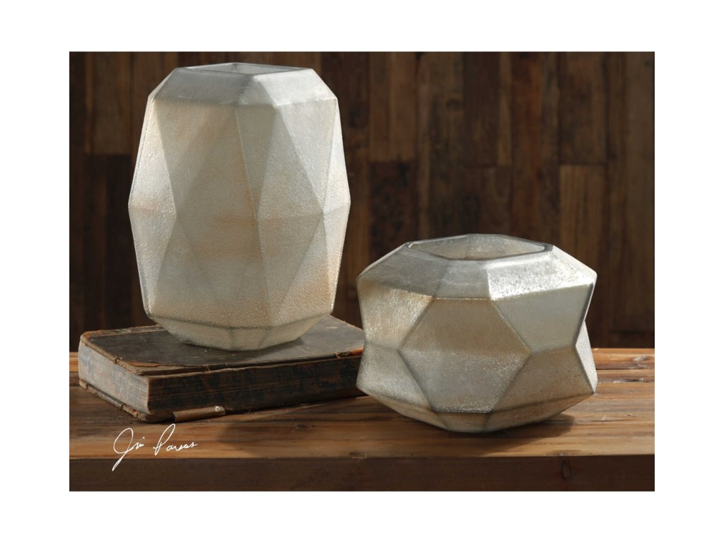 Uttermost Accessories - Vases and UrnsLuxmi Vases Set of 2