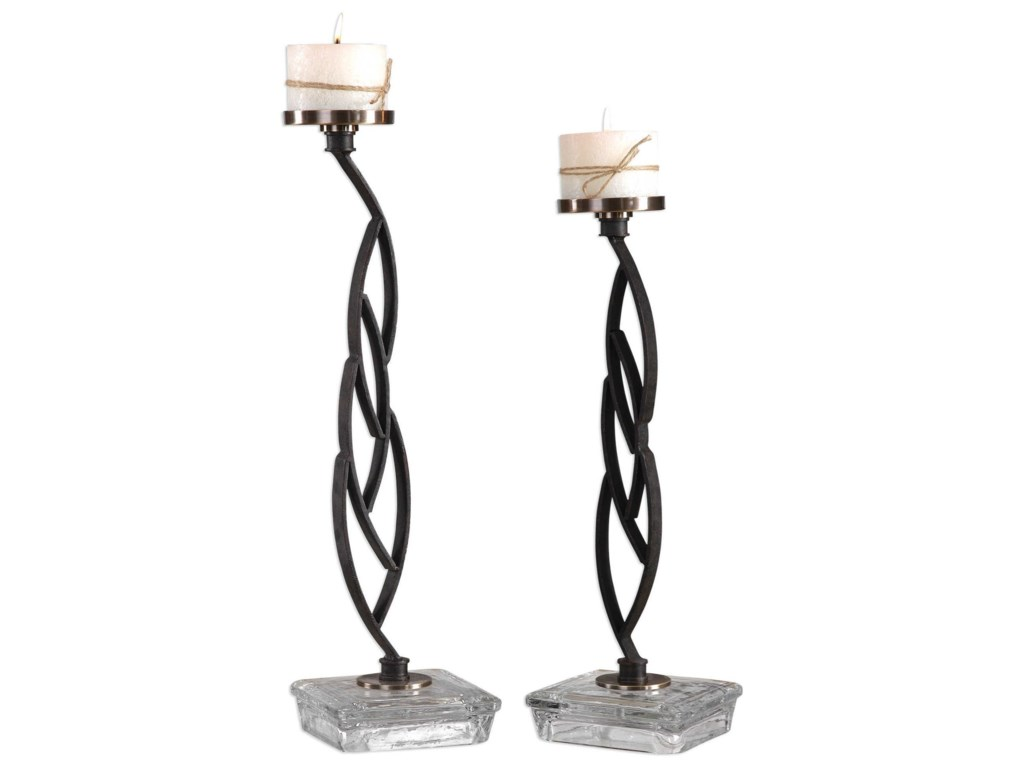 Uttermost AccessoriesMahin Candleholders Set of 2