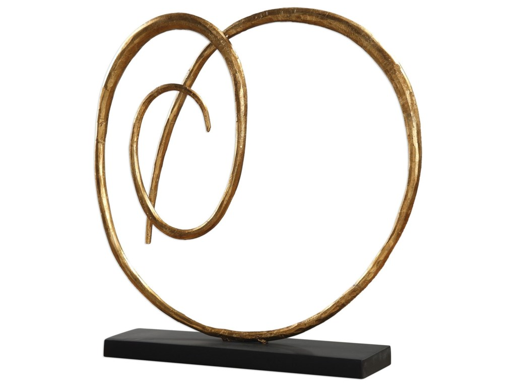 Uttermost AccessoriesOma Twisted Gold Sculpture