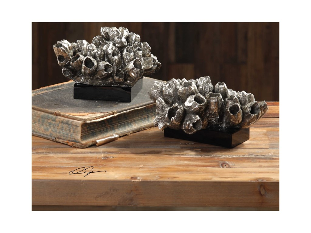 Uttermost AccessoriesSessile Barnacle Sculptures Set of 2