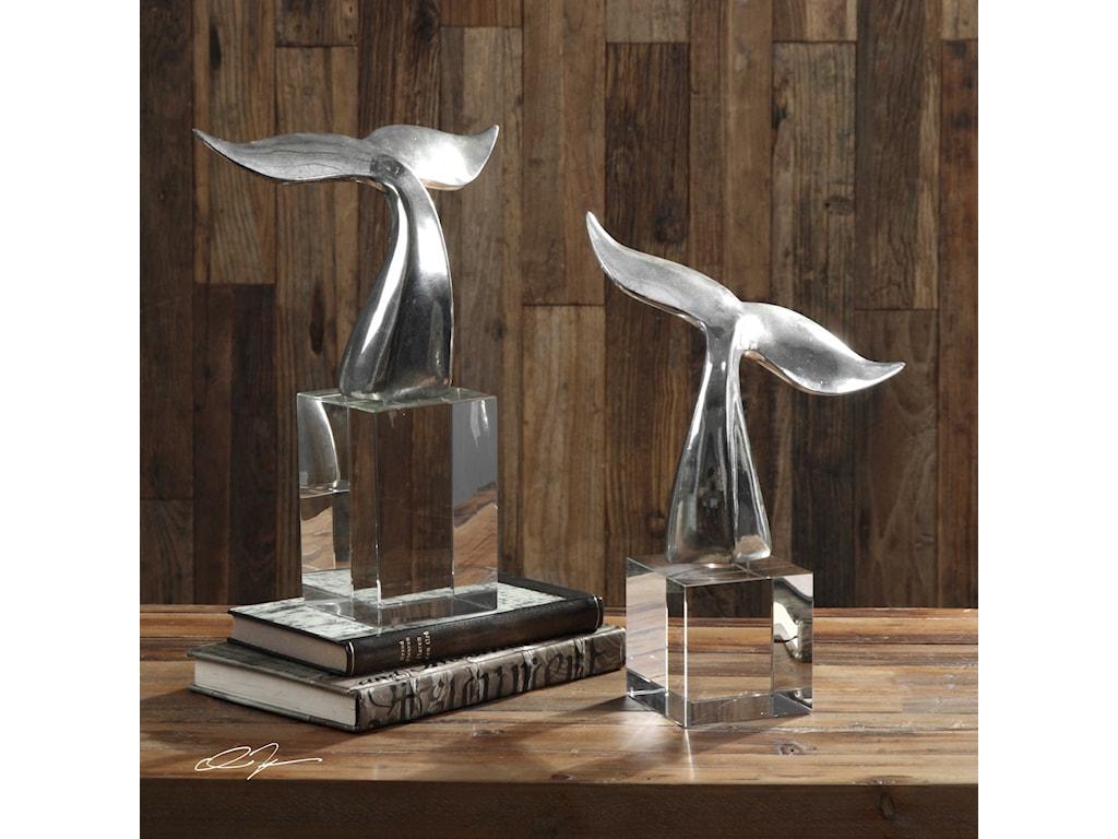 Uttermost AccessoriesFluke Sculptures Set of 2