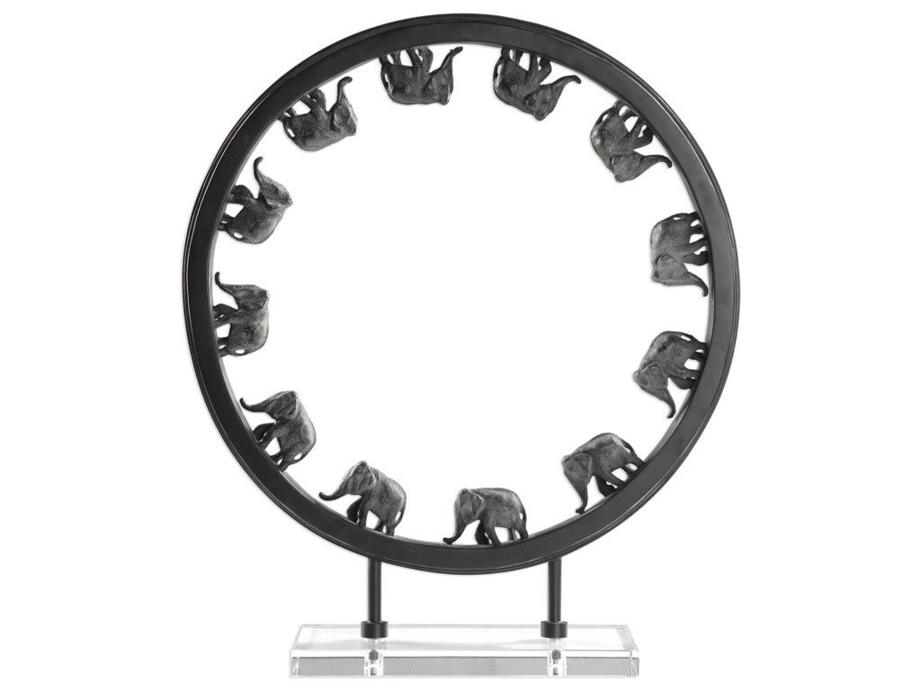 Uttermost AccessoriesElephant Walk Sculpture