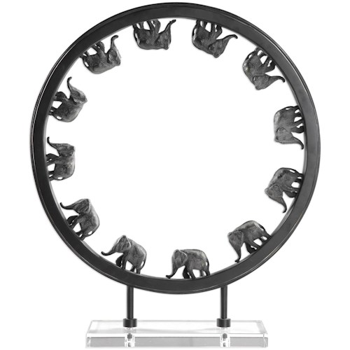 Uttermost Accessories Elephant Walk Sculpture