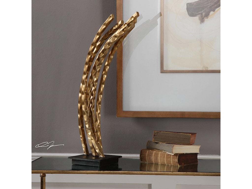 Uttermost AccessoriesWild Wheat Gold Sculpture