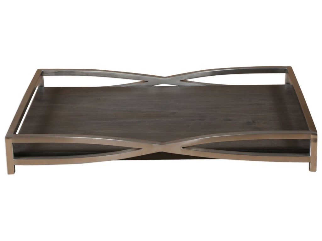 Uttermost AccessoriesHima Dark Walnut Tray
