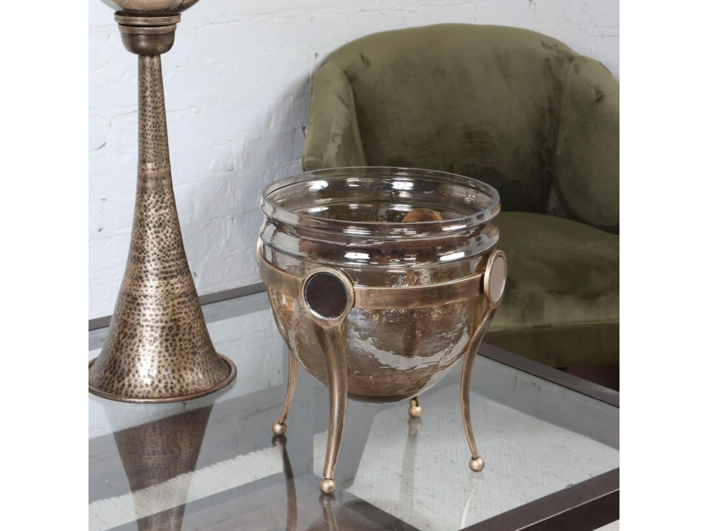 Uttermost AccessoriesAsmita Gold Glass Bowl