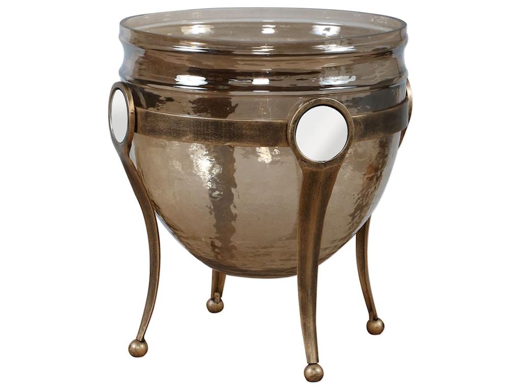 Uttermost AccessoriesAsmita Gold Glass Bowl