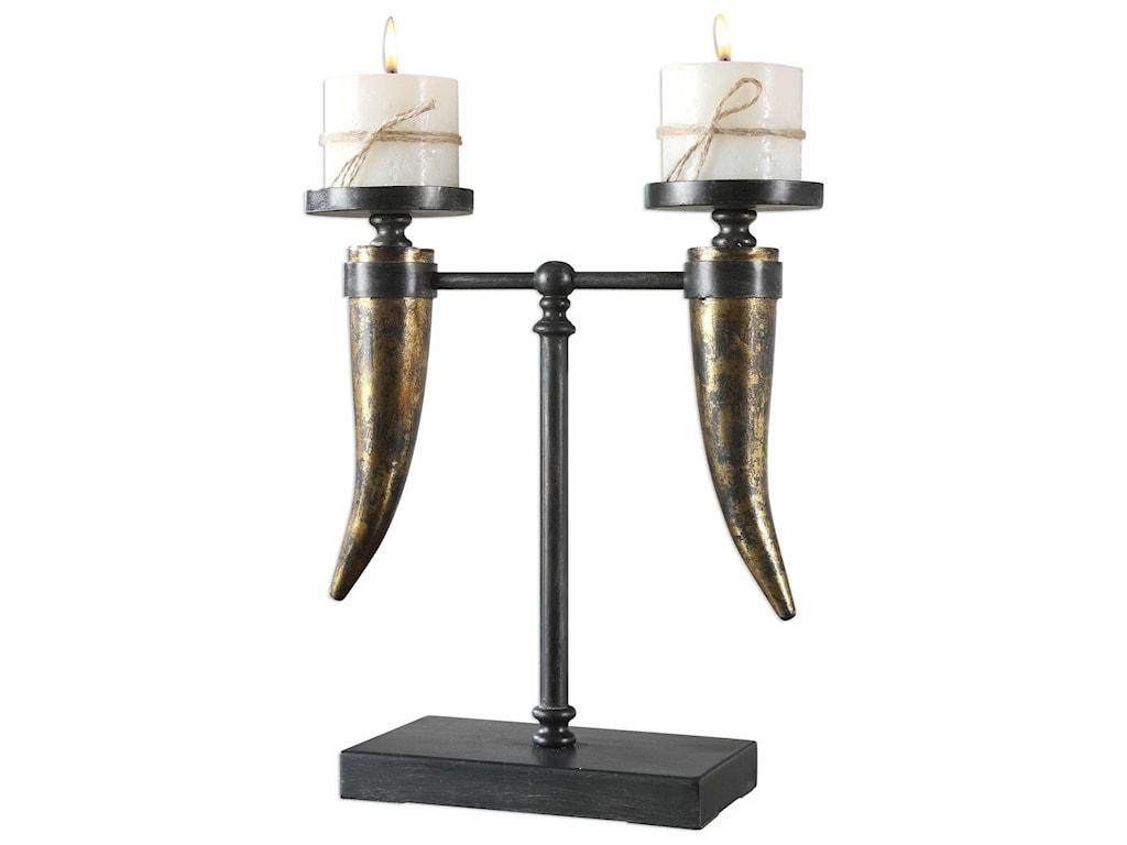Uttermost AccessoriesJanaki Gold Horn Candleholder