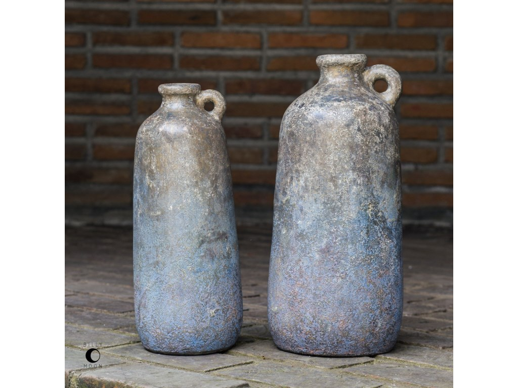 Uttermost AccessoriesRagini Terracotta Bottles, S/2