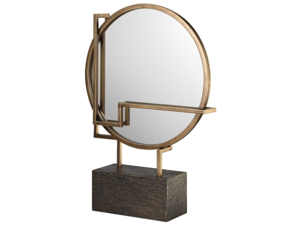 Uttermost Accessories - Statues and FigurinesDella Table Mirror