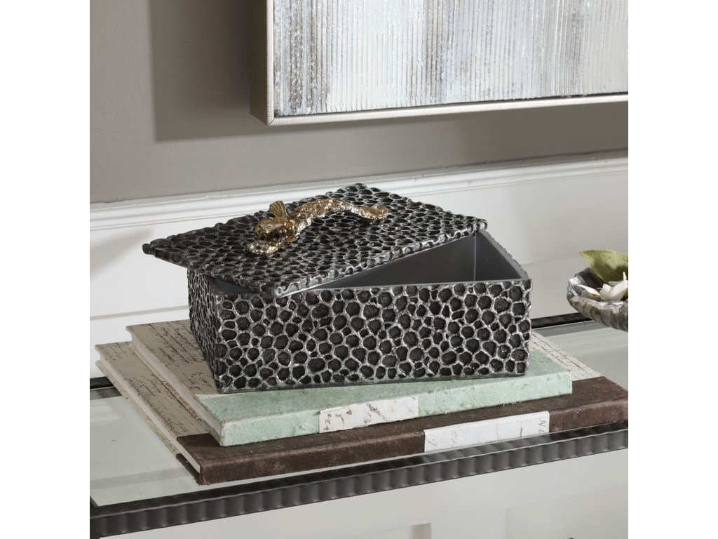 Uttermost Accessories - BoxesHive Aged Black Box