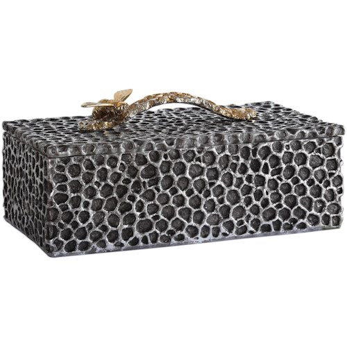 Uttermost Accessories Hive Aged Black Box