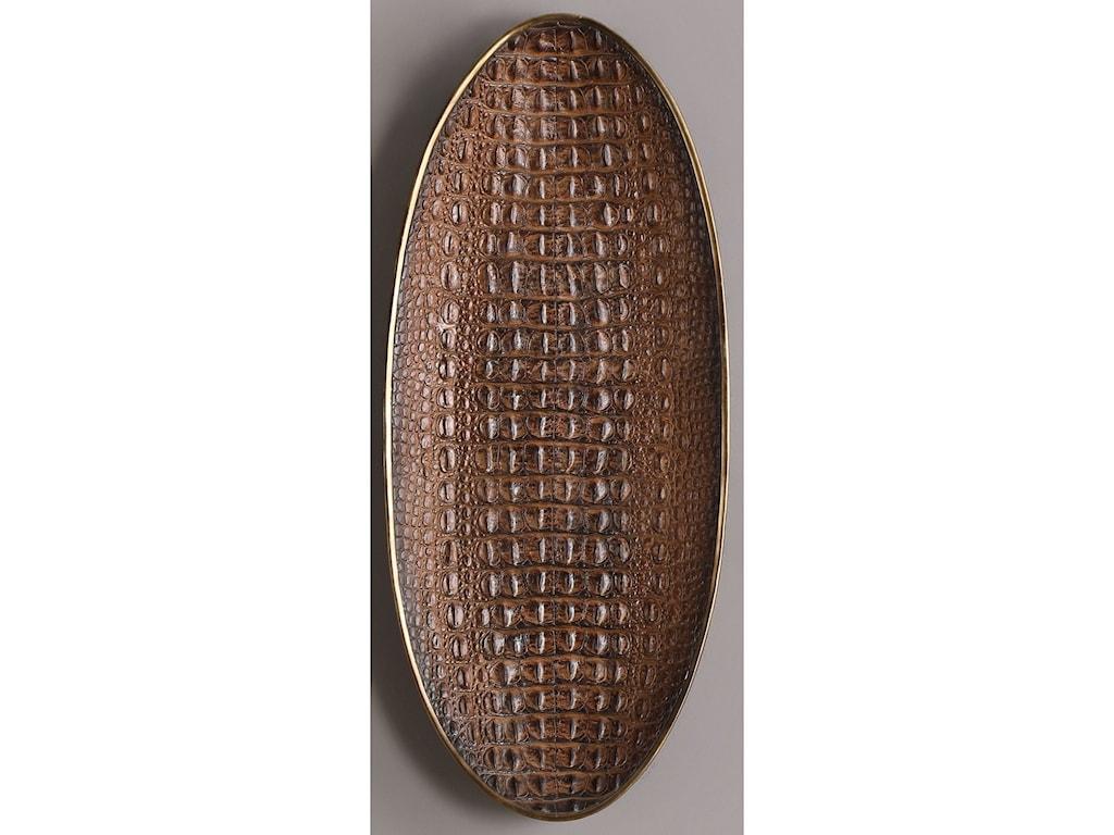 Uttermost AccessoriesNyra Crocodile Bowl Tray