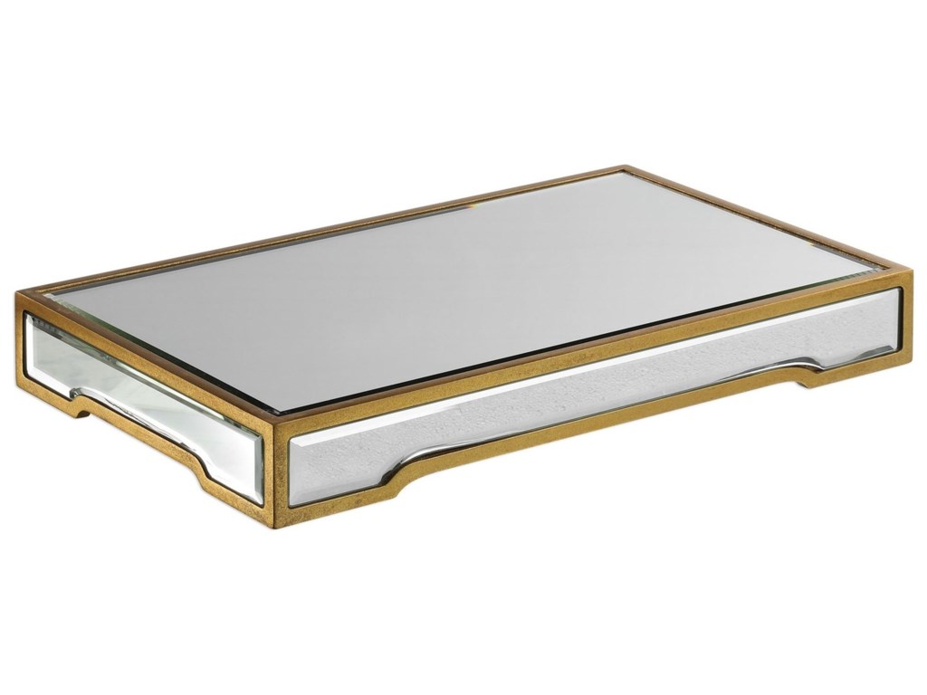 Uttermost AccessoriesCarly Mirrored Tray