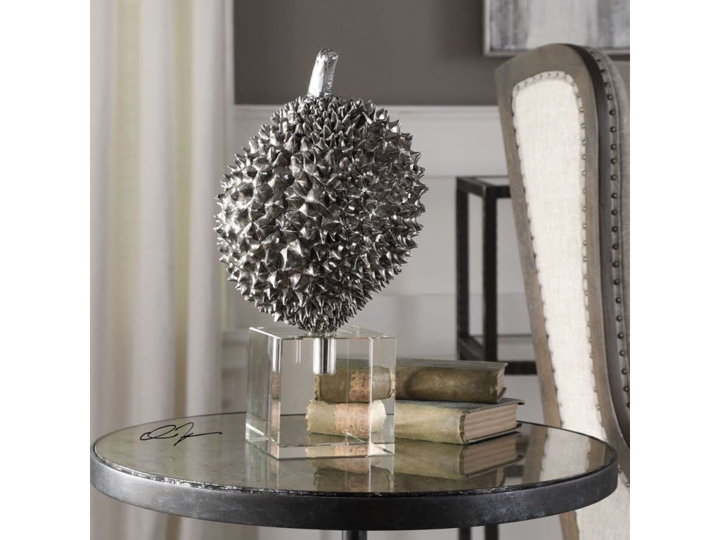 Uttermost Accessories - Statues and FigurinesDurian Silver Sculpture