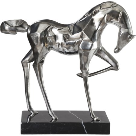 Phoenix Horse Sculpture