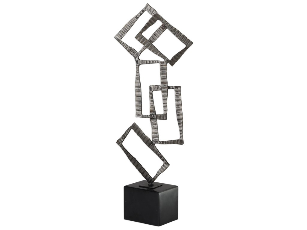 Uttermost AccessoriesTalal Brushed Nickel Sculpture