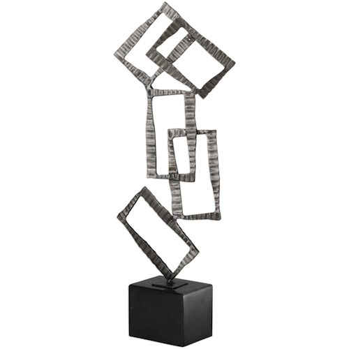 Uttermost Accessories Talal Brushed Nickel Sculpture