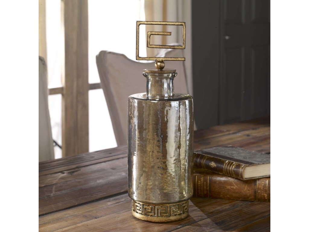 Uttermost AccessoriesNeev Luster Glass Decanter