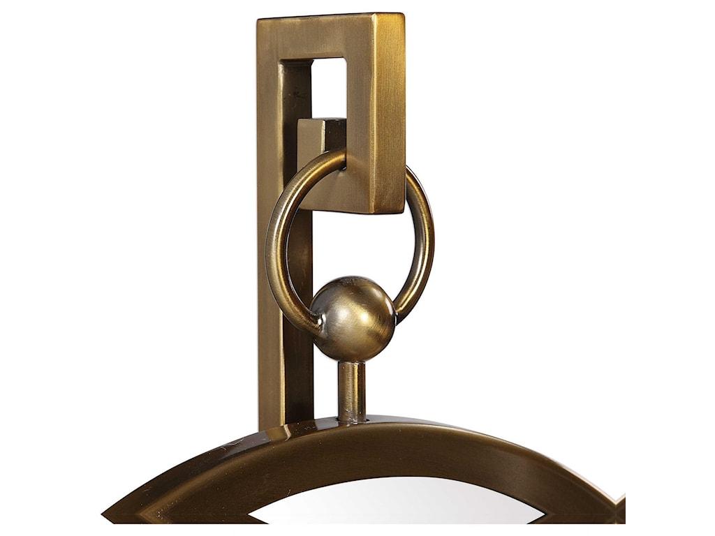 Uttermost AccessoriesNori Bronze Tabletop Mirror