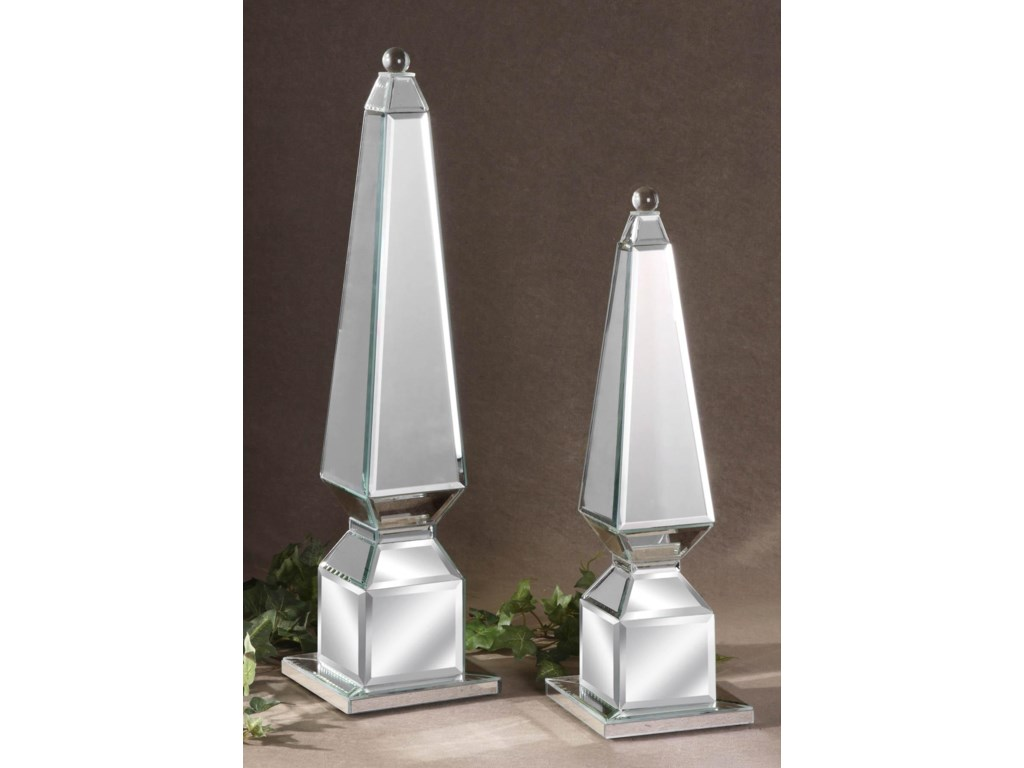 Uttermost AccessoriesAlanna Finials Set of 2