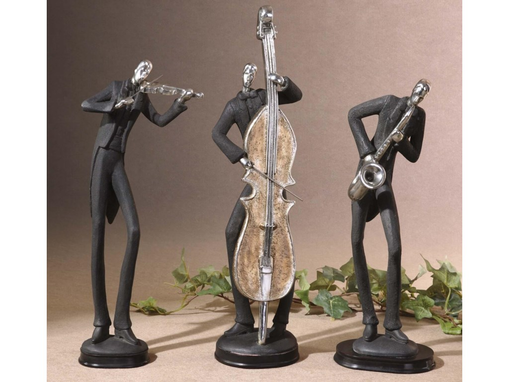 Uttermost Accessories - Statues and FigurinesMusicians Accessories Set of 3
