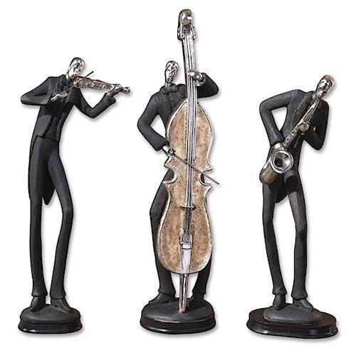 Uttermost Accessories Musicians Accessories Set of 3