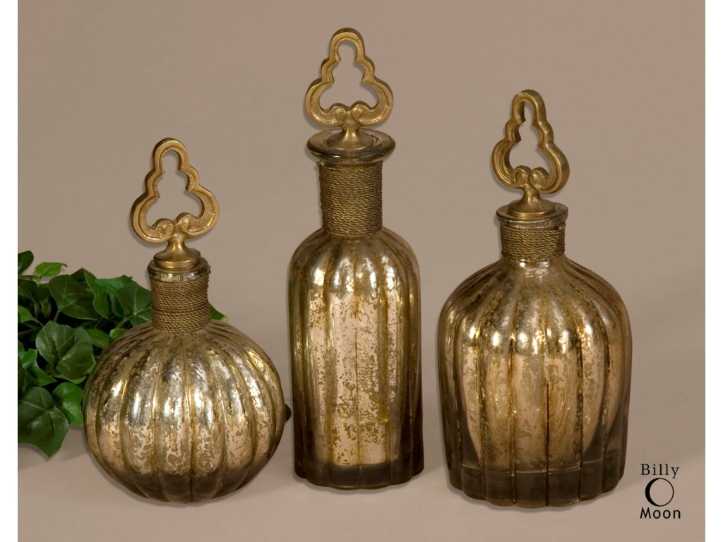 Uttermost AccessoriesKaho Perfume Bottles Set of 3