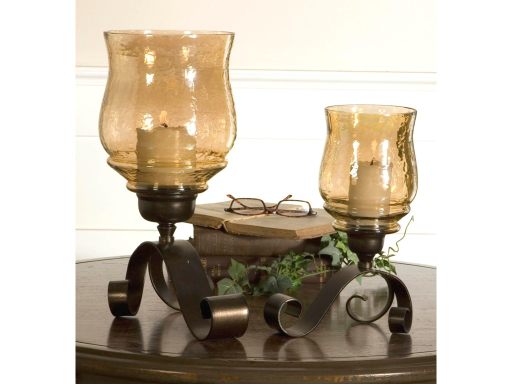 Uttermost AccessoriesJoselyn Candleholders Set of 2