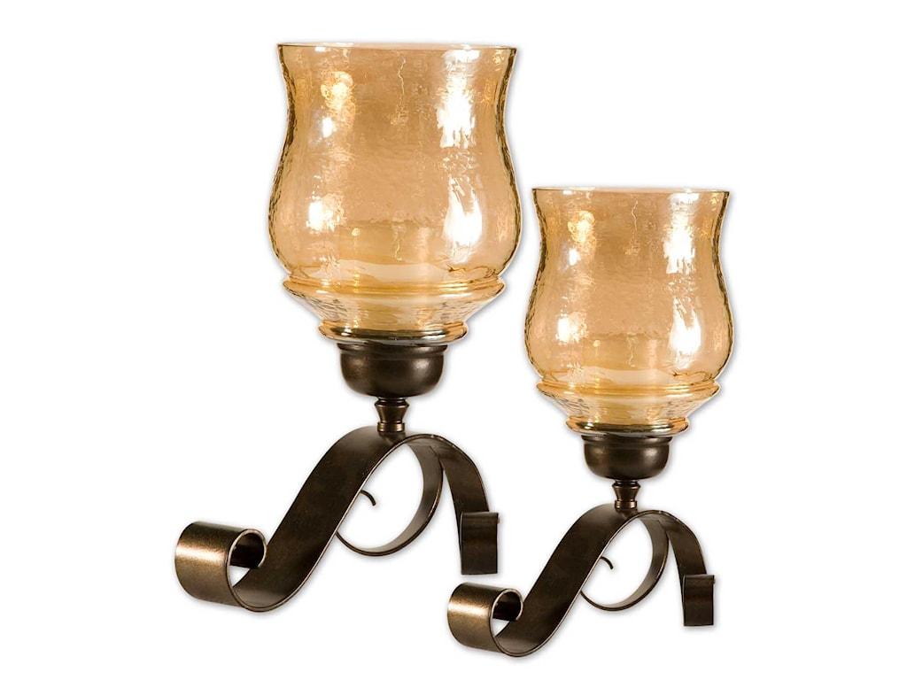 Uttermost AccessoriesJoselyn Candleholders Set of 2