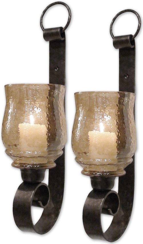 Uttermost Accessories Joselyn Small Wall Sconces Set of 2